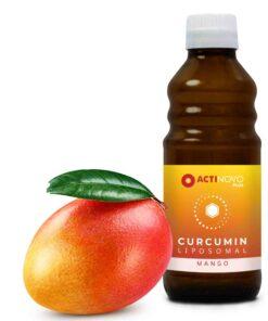 Actinovo Liposoomne Kurkumiin kurkumi ja kurkuminoididega 100-250 ml, mangomaitseline