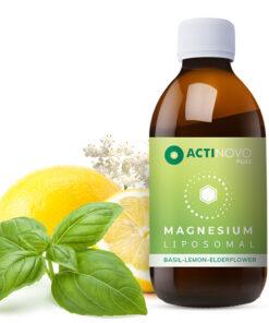 Actinovo Liposoomne Magneesium basiiliku, sidruni ja leedriga 250 ml