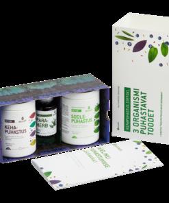 Ecosh TERVIKLIK KEHAPUHASTUSKUUR – 3 organismi puhastavat toodet + käsiraamat